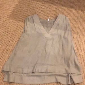 Free People Taupe Short Tunic